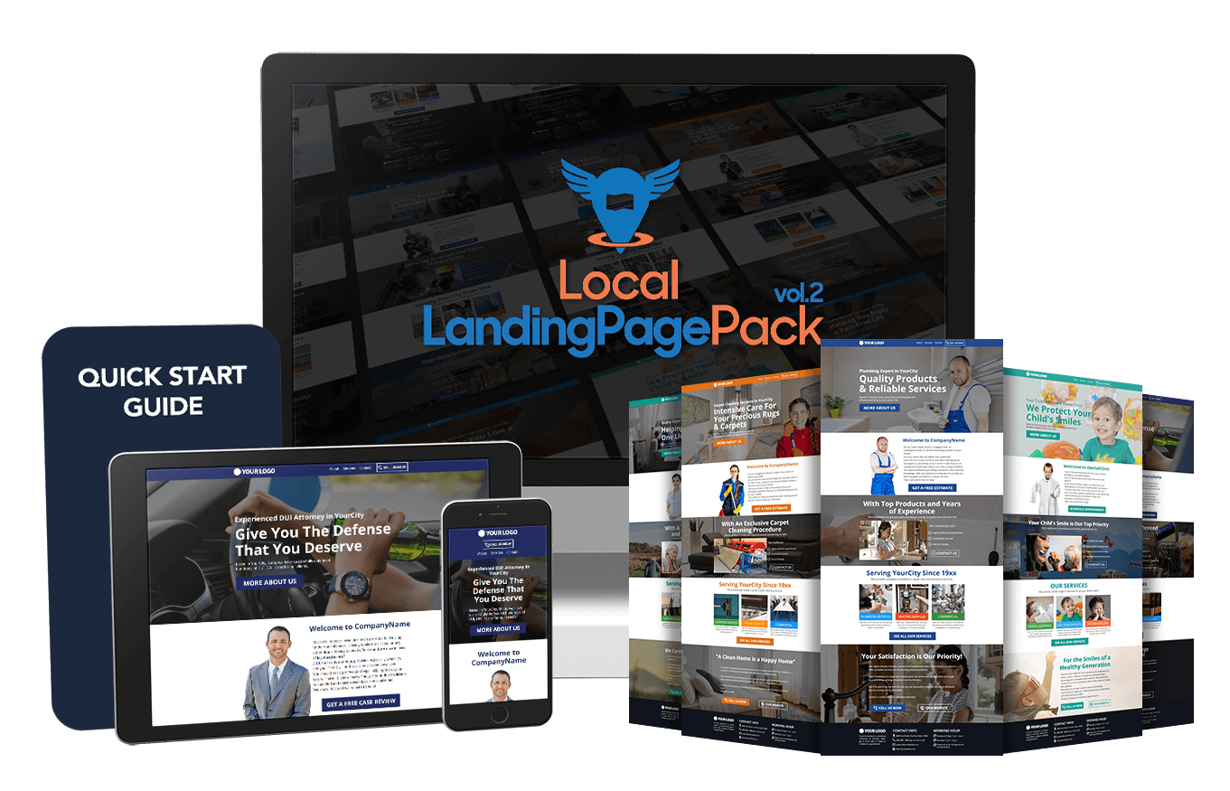 Local Landing Page Pack Vol.2 OTO